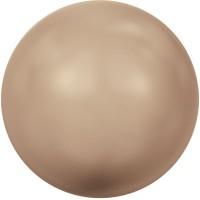 Swarovski Crystal Pearl, rund, 4 mm, bronze