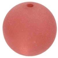 Polarisperle, rund, ca. 6 mm, pflaume