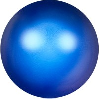 Swarovski Crystal Pearl, rund, 4 mm, iridescent dark blue