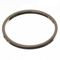 CM Metallanhänger Kreis, 18 x 1 mm, silberfarben