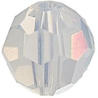 Swarovski Elements, rund, 8 mm, white opal