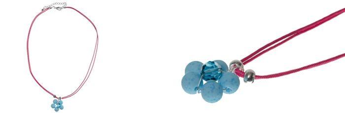 Süßer Blumenanhänger Türkisblau