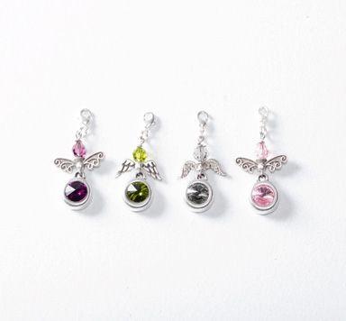 Selbstgemachte Ohrringe mit Swarovski Perlen