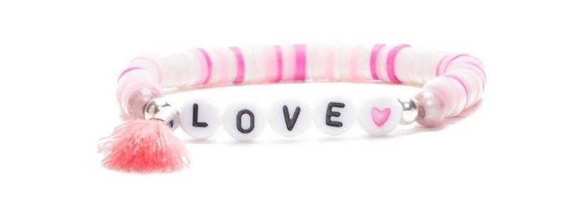 Armband mit Katsuki Perlen Love