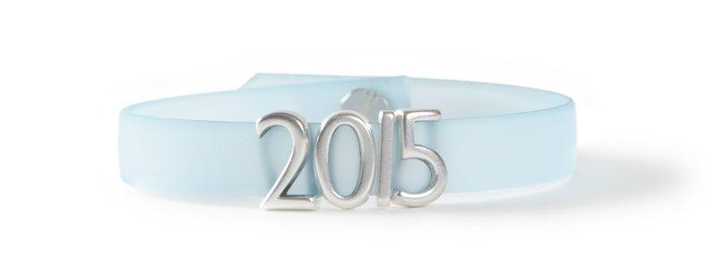 Armband mit Buchstabenperlen 2015