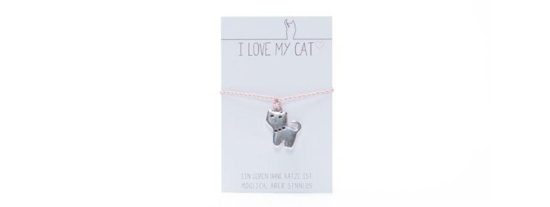 Wunscharmband Katze