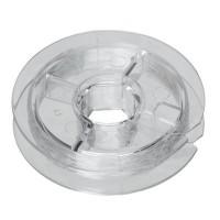 Elastisches Band für Armbänder, Durchmesser 0,8 mm, durchsichtig, Rolle mit 11 Metern in praktischer