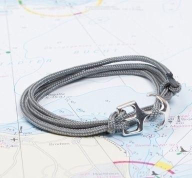 DIY Anleitung für ein Anker Armband aus Segeltau
