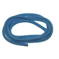 Segelseil / Kordel, Durchmesser 5 mm, Länge 1 m, blau-weiß gestreift