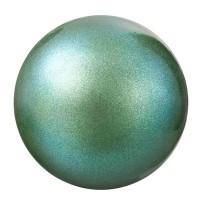 Preciosa Nacre Pearl Round Maxima, 8 mm, pearlescent green