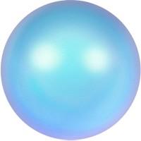Swarovski Crystal Pearl, rund, 6 mm, iridescent light blue