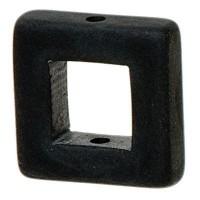 Polaris Viereck, 16 x 16 mm, schwarz