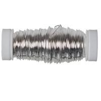 Modellierdraht Fancy Wire 0,50 mm, 50 g (ca. 25 m), silberfarben