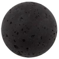 Polarisperle gala sweet, Kugel, 8 mm, schwarz