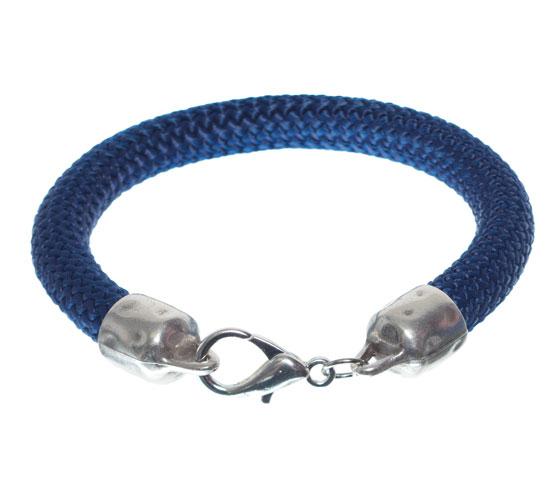 Armband mit dickem Segeltau und Anhängern Schritt 5