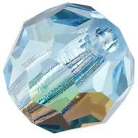 Preciosa Round Bead/Kugel, 4 mm, aqua bohemica AB
