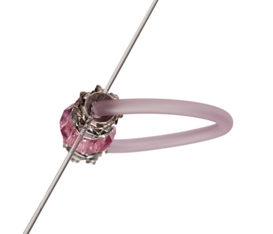 Ring mit PVC-Schlauch selber machen Schritt 5