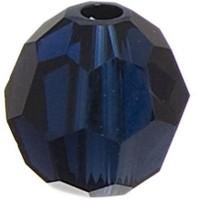 Swarovski Elements, rund, 10 mm, dark indigo