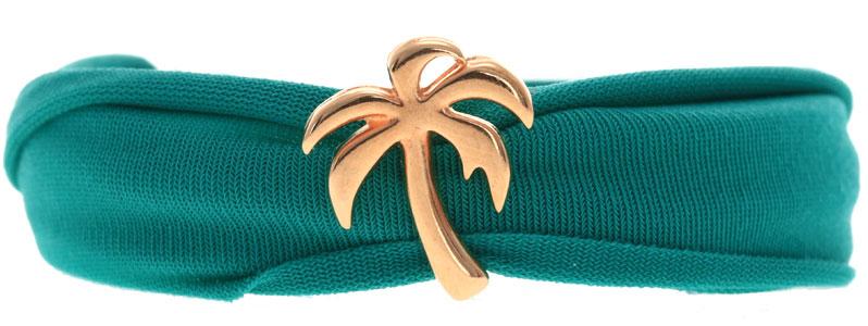 Tropische Armband mit Lycraband und Slider