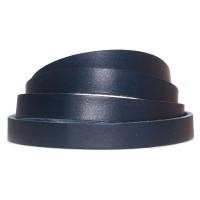 Lederband, 10 x 2 mm, Länge 1 m, dunkelblau