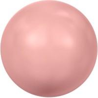 Swarovski Crystal Pearl, rund, 10 mm, pink coral