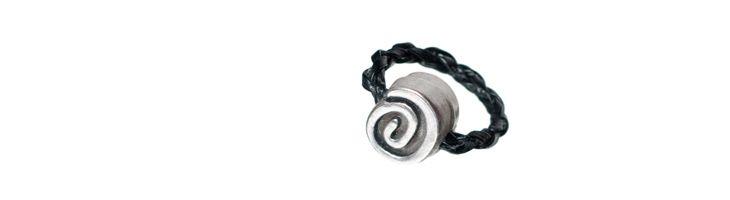 """Ring """"Antike Schnecke"""""""