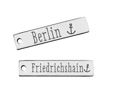 Berlin Stadtteil Anhänger