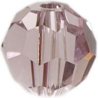 Swarovski Elements, rund, 6 mm, light amethyst