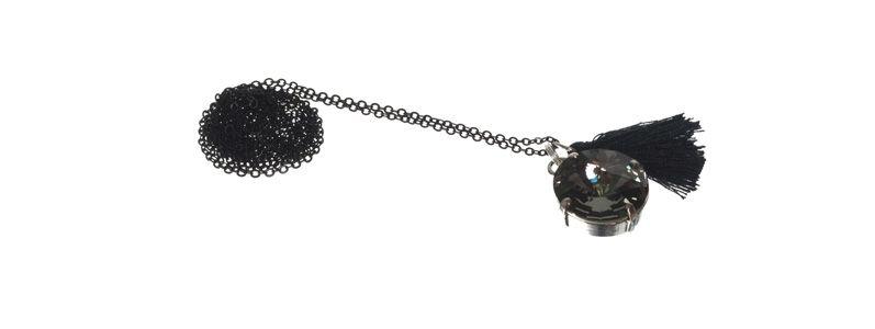 Boho-Kette Black Diamond