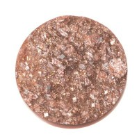 Polaris Goldstein Cabochon, rund, 12 mm, rose peach
