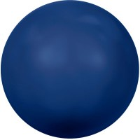 Swarovski Crystal Pearl, rund, 8 mm, dark lapis