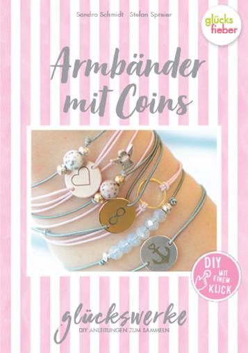 DIY Online Magazin Glückswerke 11 Armbänder mit Coins