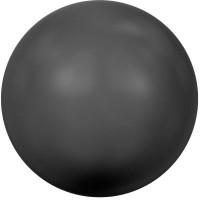 Swarovski Crystal Pearl, rund, 4 mm, mystic black