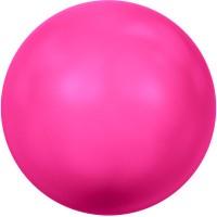 Swarovski Crystal Pearl, rund, 6 mm, neon pink