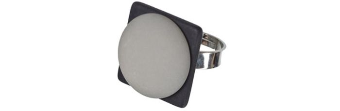 Ring Schwarz-Grau