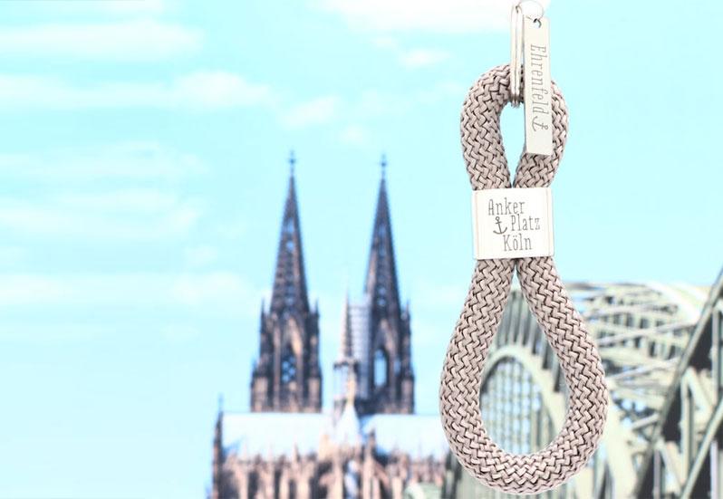 Schlüsselanhänger Ankerplatz Köln