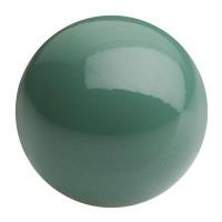 Preciosa Nacre Pearl Round Maxima, 4 mm, crystal sage