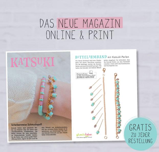 DIY Magazin: Schmuck selbermachen mit Katsuki Perlen