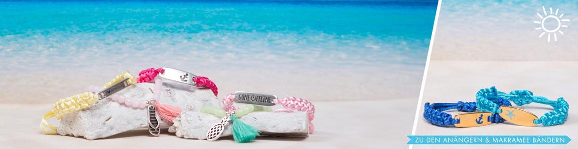 Ideen für Armbänder mit Sommer-Anhängern
