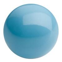 Preciosa Nacre Pearl Round Maxima, 4 mm, crystal aqua blue