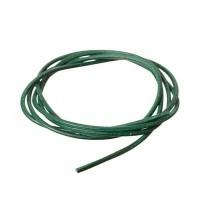 Lederband, 2 mm, Länge 1 m, dunkelgrün
