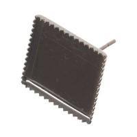 Ohrstecker für eckige Cabochons 12 x 12 mm, silberfarben