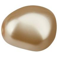 Preciosa Nacre Pearl Elliptic 16 x 14 mm, cream