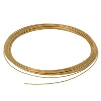 Craft Wire, Durchmesser 0,8 mm, 6 m, vergoldet
