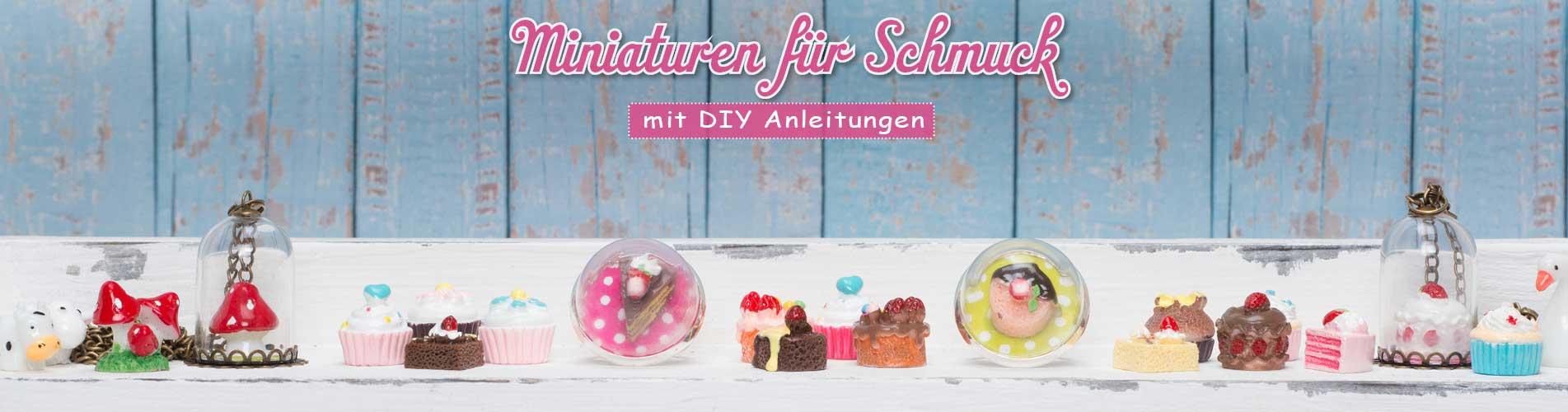Tiny Miniaturen für Schmuck