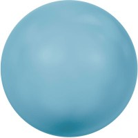 Swarovski Crystal Pearl, rund, 6 mm, turquoise