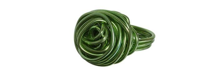 Knäul-Ring Grün