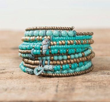 Memory Wire Armbänder