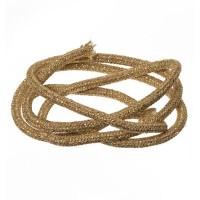 Segelseil / Kordel, Durchmesser 5 mm, Länge 1 m, goldfarben