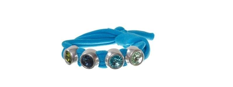 Lycra-Armband Meerblau